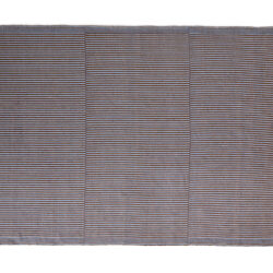 Hay Rug Tapis Chestnut and blue