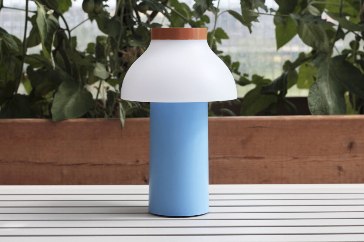 Lampada portatile Hay - PC lamp - blue