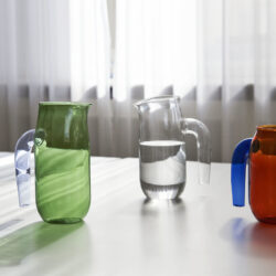 Hay Brocca vetro Ambra e trasparente