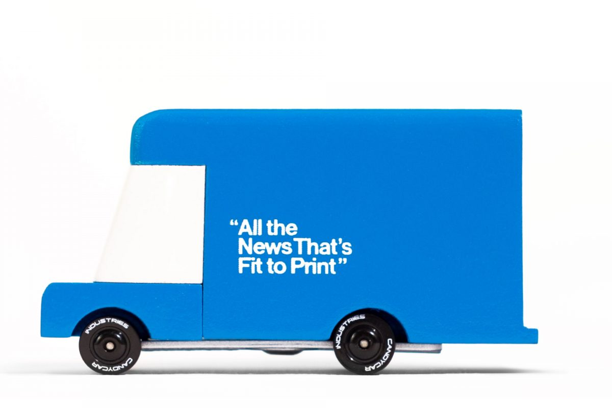 Candylab NewYork Times Van