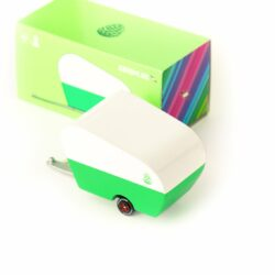 Pinecode roulotte Candylab verde retro