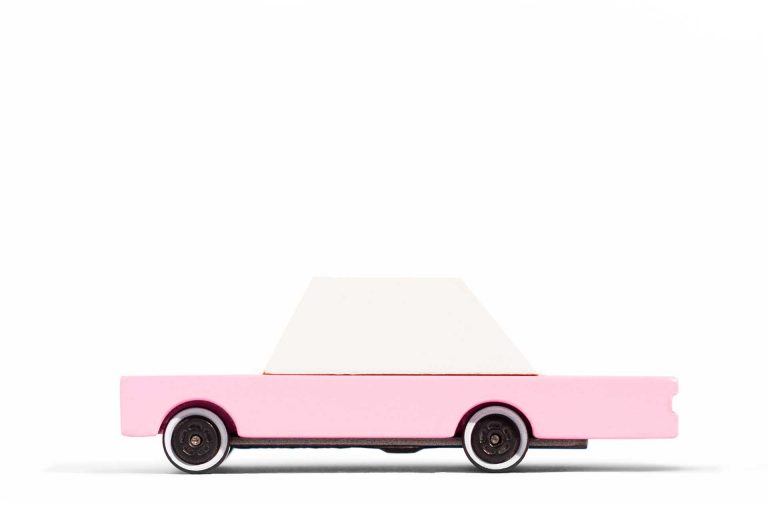 Candylab Pink Sedan Side