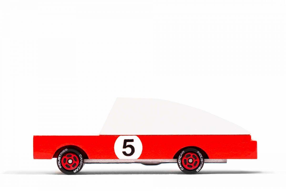 Macchina corsa rossa Candylab