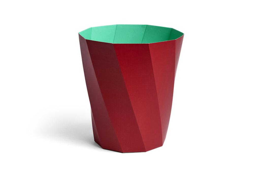 Dark red + green