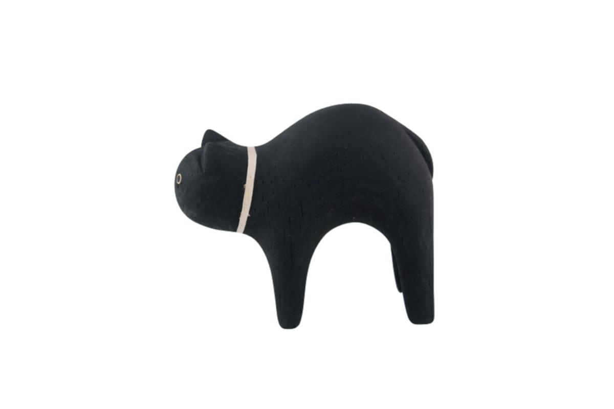 Tlab Pole Pole Black Cat - side