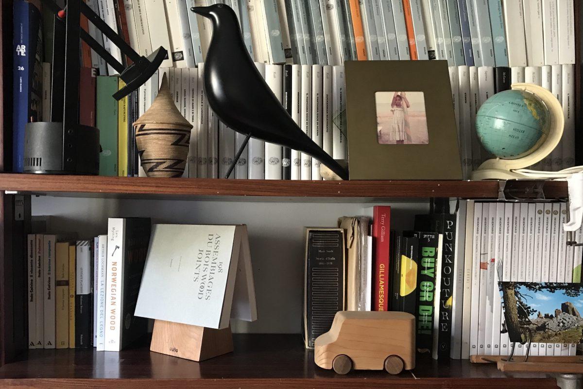 Vud-progetto cugino- segnalibro - libreria